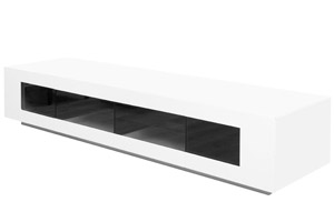 Veroli Modern Tv Unit in White Lacquer