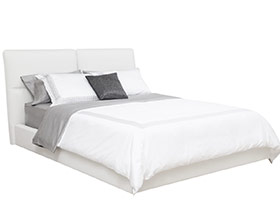 Versaille modern bed white