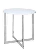 voltera modern side table white