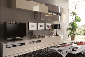 Modern wall unit from our spanish line. Wall unit D