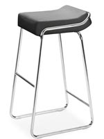 Modern Wedge Barstool
