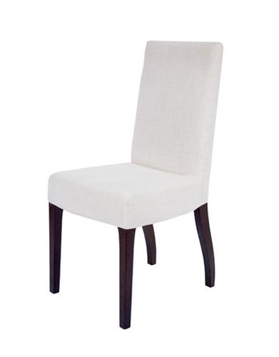 Granada Modern Dining Chairs In Beige fabric walnut legs  : DFC02010 008 2T from www.mh2g.com size 391 x 500 jpeg 28kB
