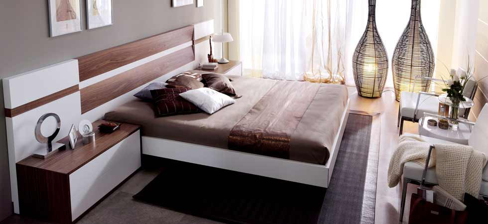 Modern Home 2 Go. Trez Bed.Bedroom Furniture