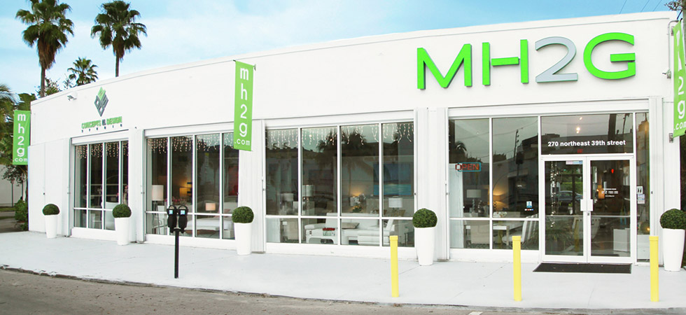 Modern Home 2 Go showroom in Miami Design District!