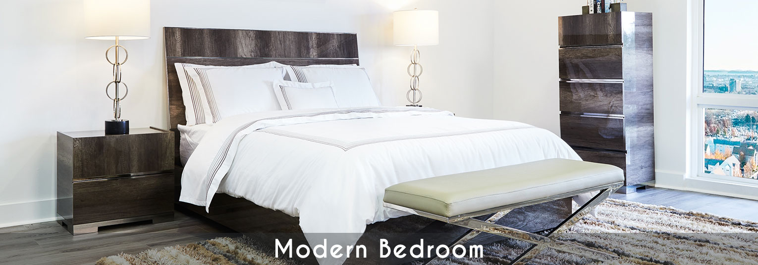 Modern Bedroom Furniture. Modern Beds, Modern Nighstands and Side Tables, Modern Cabinet Dressers, Modern Mattresses, Modern Bedding and Modern Lighting