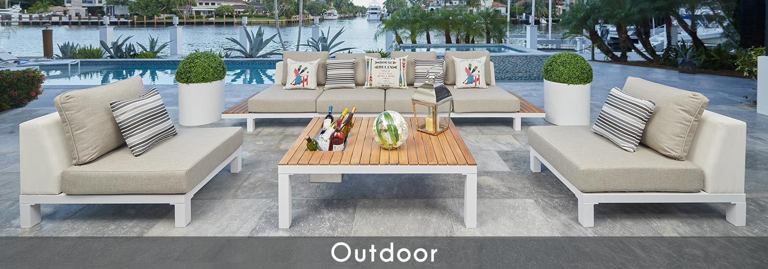 Modern Outdoor Furniture. Modern Outdoor Dining, Modern Outdoor Lounging, Modern Outdoor Chaices, Modern Outdoor Storage, Modern Outdoor Pillow and Modern Accessories