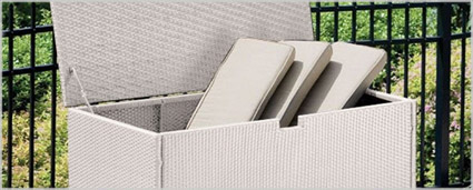 Modern Outdoor Furniture - Modern Outdoor Storage at mh2g