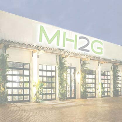 Modern Showroom at MH2G Modern Furniture Store Naples