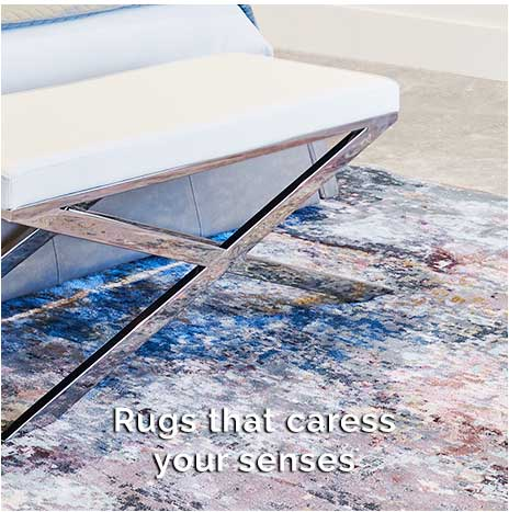 Modern Shag rugs and Modern Cowhide rugs