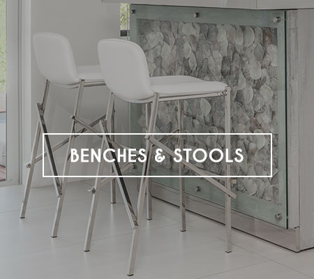 Modern Benches and Stools in Miami, Doral, Fort Lauderdale and Naples