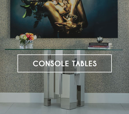 Modern Console Tables in Miami, Doral, Fort Lauderdale and Naples