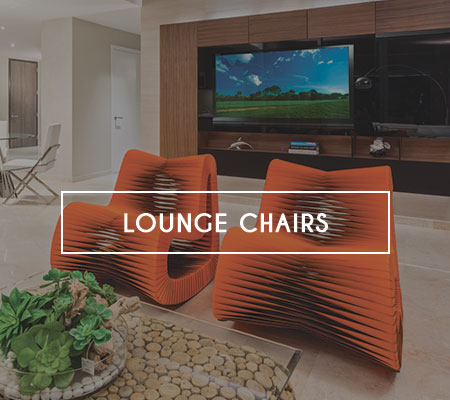 Modern Lounge Chairs in Miami, Doral, Fort Lauderdale and Naples