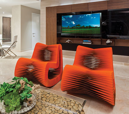 Modern Lounge Chairs at MH2G