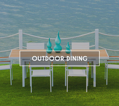 Modern Outdoor Dining Furniture, Patio Furniture
