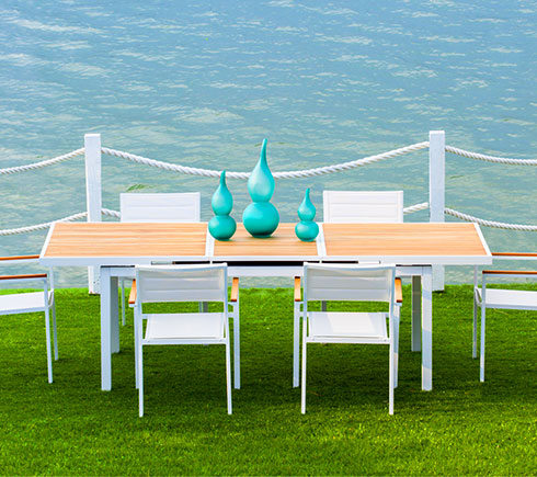 modern outdoor patio furniture. Plain Modern Modern Outdoor Dining Furniture At MH2g Inside Patio
