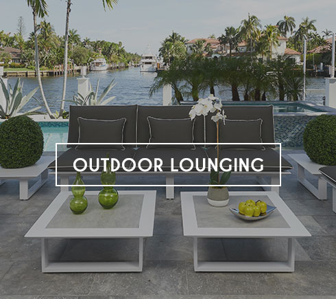 Modern Outdoor Lounging Furniture in Miami, Doral, Fort Lauderdale and Naples