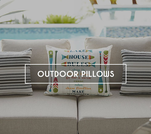 Modern Outdoor Pillows in Miami, Doral, Fort Lauderdale and Naples