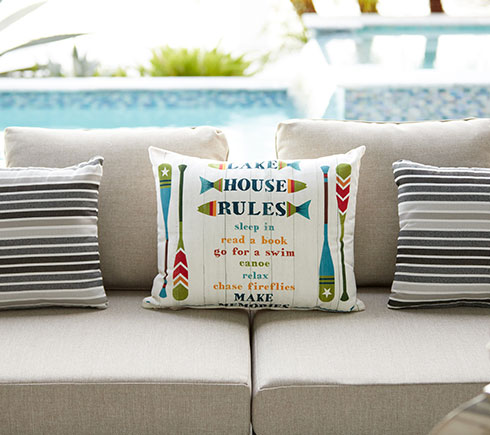 Modern Outdoor Pillows at MH2G