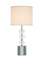 crawford modern table lamp white Shade