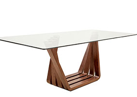 sorento wood Modern dining table