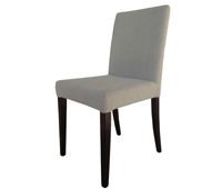 Anzio beigr fabric dining chair