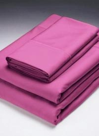 Bamboo Bedding Collection Berry