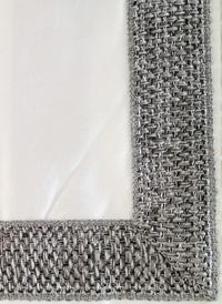 Braided Modern Bedding Graphite