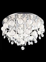 Modern Bubbles Large Flush Mount Lamp*
