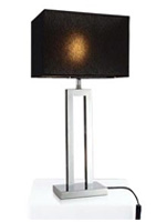 Casale table lamp with black shade at mh2g.com