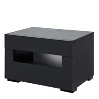 Citra modern nightstand Black