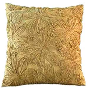 Jennifer decorative Pillow Gold