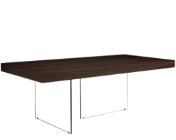 Lucca wengue dining table