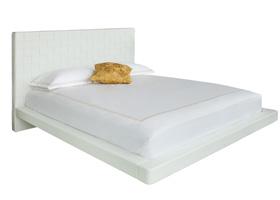 Lugo modern bed white