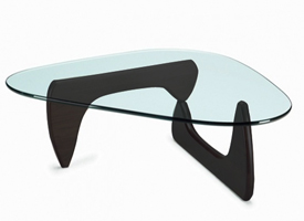 Marconi coffee table in black. Modern coffee table
