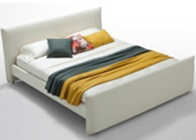 Matno white leatherette bed in Miami and Fort Lauderdale at MH2G