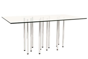 merano rectangular dining table