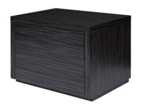 Montella nightstand in wengue finish