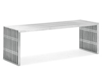 Novel Stainless Steel Double bench availble at mh2g