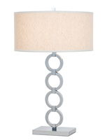 phoebe modern table lamp white Shade