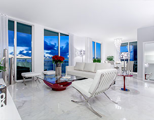 Interior Design Projects by MH2G Interior Designers - Viscayne Apartment in Downtown Miami