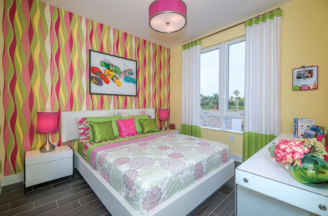 Interior Design by MH2G Furniture - Modern Bedroom at Landmark Modern Home A: 2 Story