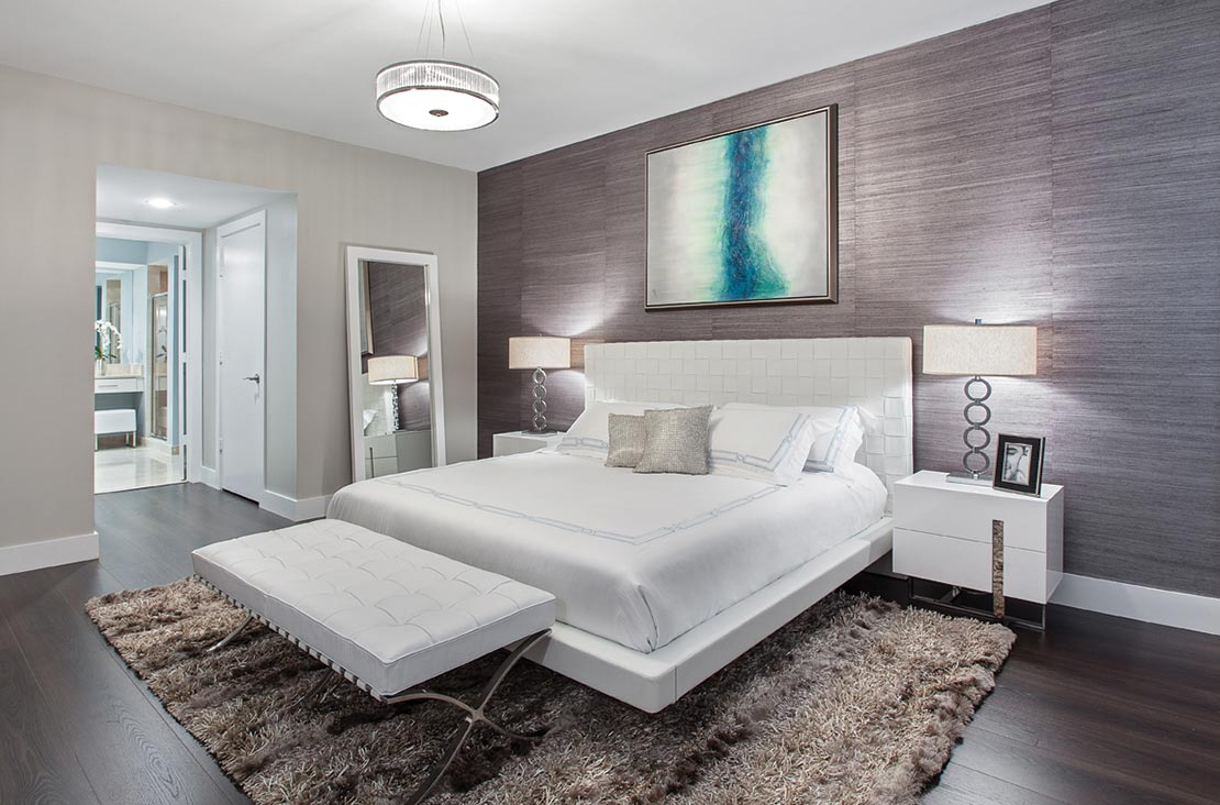 Interior Design by MH2G Furniture - Modern Bed Room  at  Biscayne 101: 2014