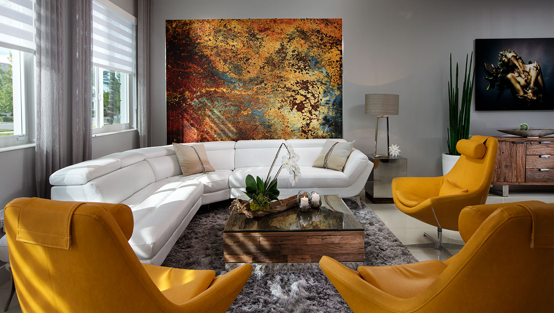 Interior Design by MH2G Furniture - Miami Beach Residence