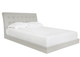 Angelo modern bed grey