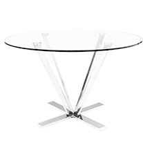 sarnano glass Modern dining table