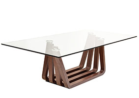 sorrento modern coffee table in wood