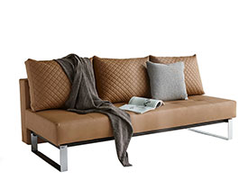 Supremax Modern Sofa Bed in leatherette