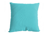 Turquoise Modern Outdoor Patio Pillow square