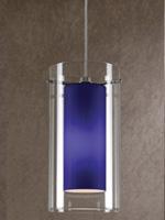 Vivian Modern Ceiling Lamp Blue