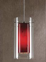 Vivian Modern Ceiling Lamp Red